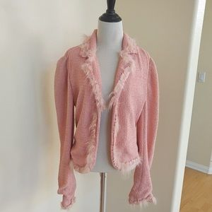 My Christian Dior Pink Jacket with Unique Trim